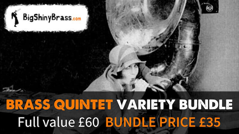 Brass Quintet Variety Bundle