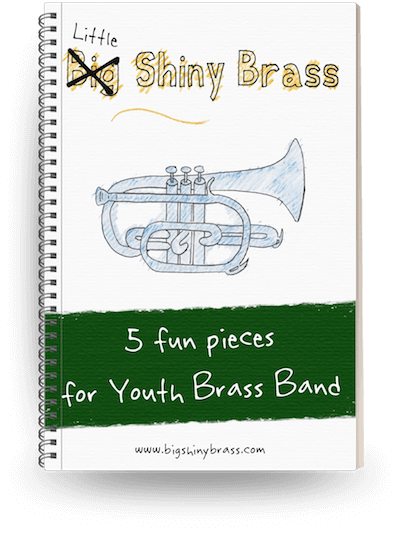 PDF sheet music for junior brass ensembles and training band | PDF