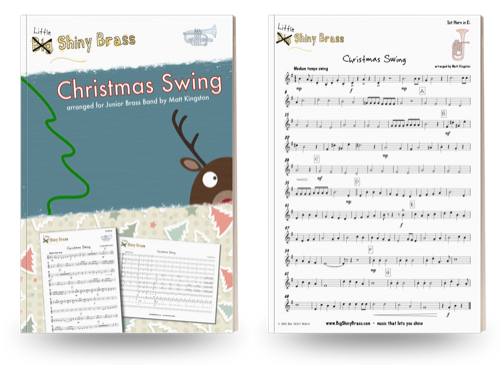 Little Shiny Brass Christmas Swing