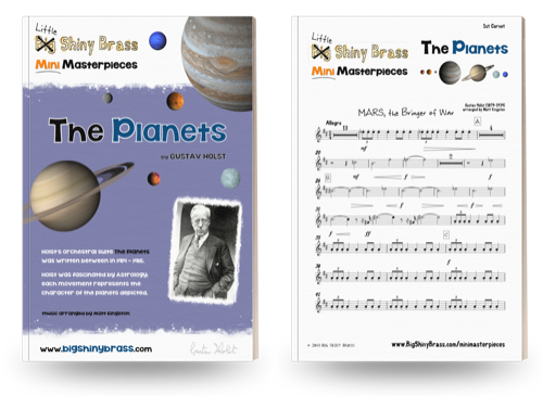 Mini Masterpieces - The Planets