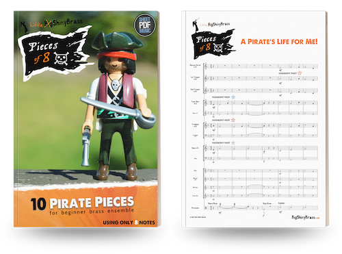 Pieces of Eight for Beginner Brass