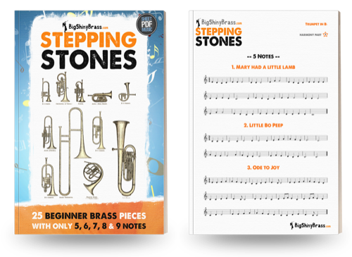 Stepping Stones for Beginner Brass
